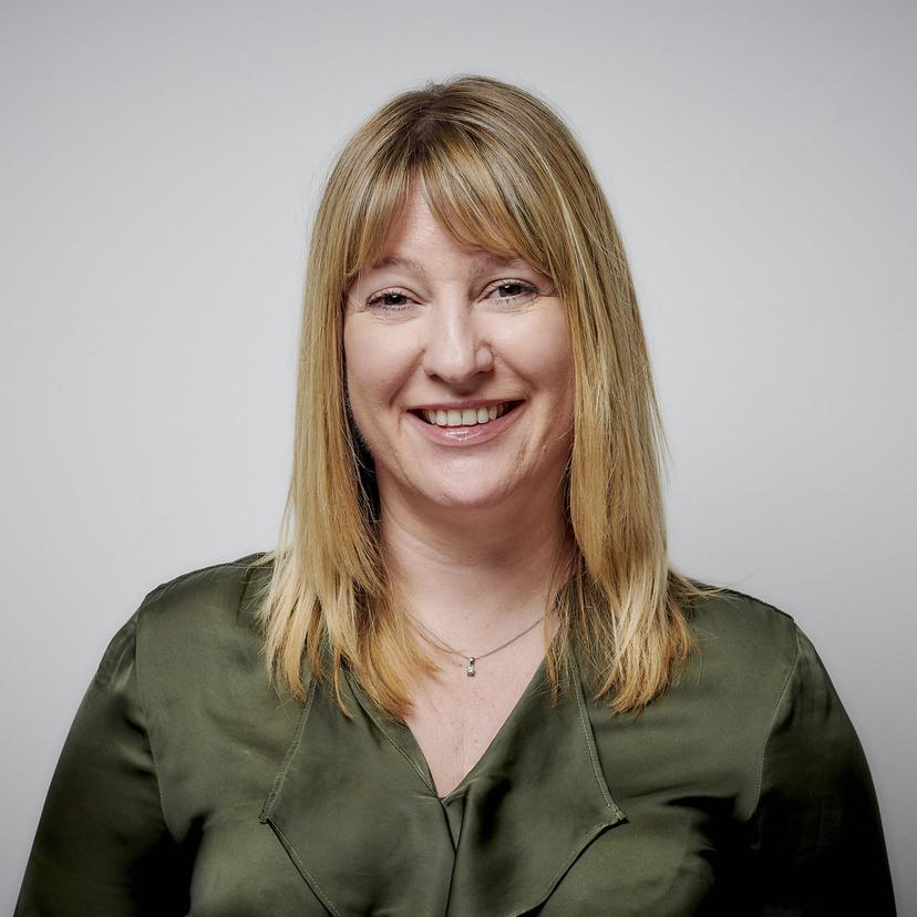 Sarah Burns - Director of Finance